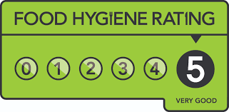 5 star Food Hygiene Rating graphic